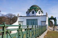 Otto Wagner Hofpavillon Hietzing lizenzfreie stockbilder