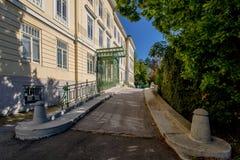 Otto Wagner Hospital in Wenen, Oostenrijk royalty-vrije stock foto