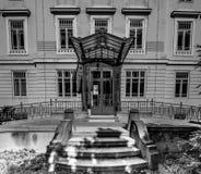 Otto Wagner Hospital in Wenen, Oostenrijk stock afbeeldingen