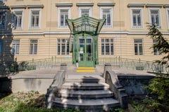 Otto Wagner Hospital in Wenen, Oostenrijk royalty-vrije stock afbeelding