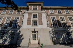 Otto Wagner Hospital in Wenen, Oostenrijk royalty-vrije stock foto's
