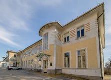 Otto Wagner Hospital in Wenen, Oostenrijk stock foto's