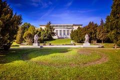 Otto Wagner Hospital in Wenen, Oostenrijk royalty-vrije stock fotografie