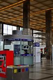 Westbahnhof Wien Stock Photo