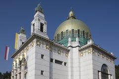 Otto-Wagner-Iglesia imágenes de archivo libres de regalías