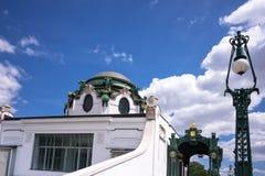 Otto Wagner Pavilion Vienna Stock Photos