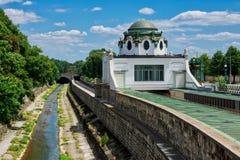 Otto Wagner Pavilion Vienna Stock Photography