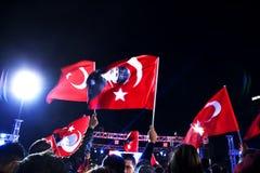 29 ottobre celebrazione di giorno della Repubblica Fotografia Stock Libera da Diritti
