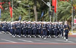 29 ottobre celebrazione di giorno della Repubblica della Turchia Fotografia Stock Libera da Diritti