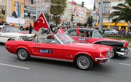 29 ottobre celebrazione di giorno della Repubblica della Turchia Fotografia Stock