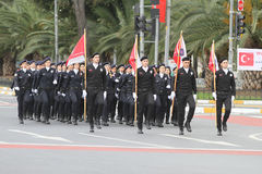 29 ottobre celebrazione di giorno della Repubblica della Turchia Fotografie Stock