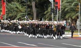 29 ottobre celebrazione di giorno della Repubblica della Turchia Immagine Stock Libera da Diritti
