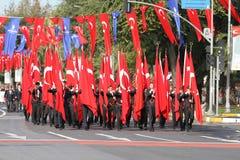 29 ottobre celebrazione di giorno della Repubblica nel 2017 Fotografie Stock Libere da Diritti