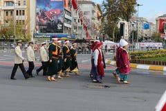 29 ottobre celebrazione di giorno della Repubblica nel 2017 Immagine Stock Libera da Diritti