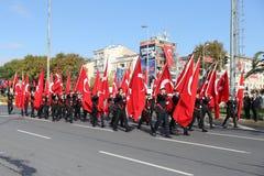 29 ottobre celebrazione di giorno della Repubblica nel 2017 Fotografie Stock