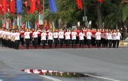 29 ottobre celebrazione di giorno della Repubblica nel 2017 Immagine Stock
