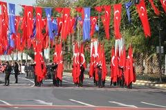 29 ottobre celebrazione di giorno della Repubblica nel 2017 Immagini Stock Libere da Diritti