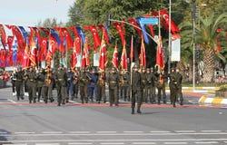 29 ottobre celebrazione di giorno della Repubblica nel 2017 Fotografia Stock Libera da Diritti