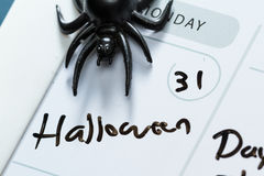 31 ottobre, Halloween Fotografia Stock