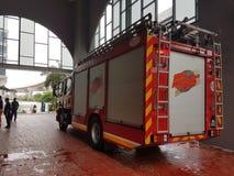 5 ottobre 2016 Subang Jaya, Malesia L'esercizio dell'esercitazione antincendio all'hotel Subang USJ della sommità è stato fatto q Immagine Stock Libera da Diritti