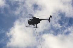 17 ottobre uragano Matthew Repairs Immagine Stock