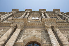 Ottoman architecture of Dolmabahce Palace Istanbul Royalty Free Stock Photos