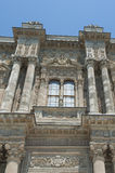 Ottoman architecture of Dolmabahce Palace Istanbul Stock Photography