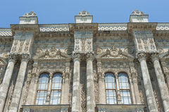 Ottoman architecture of Dolmabahce Palace Istanbul Stock Photos