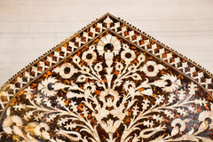 Ottoman art example of Mother of Pearl inlays from Istanbul Turk Stock Photo