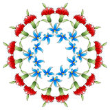 Ottoman art flowers twenty six Royalty Free Stock Images