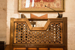 Ottoman art on wood. Ottoman art in geometric patterns on wood Royalty Free Stock Image