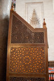 Ottoman art on wood. Ottoman art in geometric patterns on wood Royalty Free Stock Images