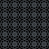 Seamless ottoman pattern and background vector illustration Royalty Free Illustration