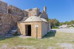 Ottoman bath in Rio castle, Peloponnese, Greece Stock Photos