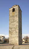 Ottoman clock tower in Podgorica.   Royalty Free Stock Photography