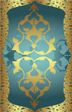 Ottoman design. Elegant golden traditional ottoman turkish design Stock Image