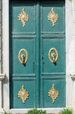 Ottoman Doors. Ancient architectural and decorative ottoman art in a door , (15th century) Eyup Istanbul Turkey Stock Photo