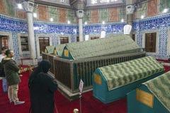 Ottoman Dynasty Tombs Royalty Free Stock Photos