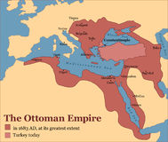 Ottoman Empire Turkey Royalty Free Stock Image