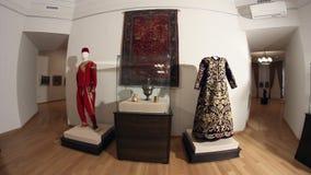 Ottoman era costumes. Dolly shot. stock footage