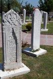 ottoman för gravestone för områdesedirne utställning arkivbild