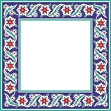 Ottoman floral ornament tiles Stock Image
