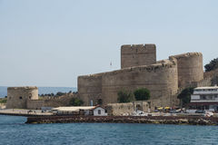 Ottoman fortress on  the Dardanelles Royalty Free Stock Photography