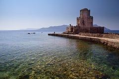 Ottoman fortress in Methoni, Greece. Old Ottoman fortress in Methoni, Greece royalty free stock image