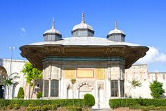 Ottoman Fountain Kiosk Royalty Free Stock Photo