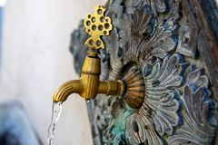 Ottoman Fountain Stock Photo