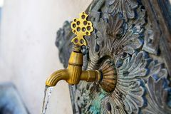 Ottoman Fountain. From Turkey Travel Royalty Free Stock Photography