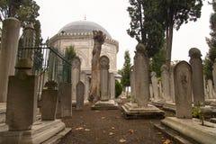 Ottoman Graveyard Royalty Free Stock Image