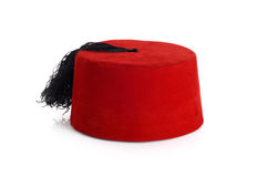 Ottoman hat. On the white royalty free stock image