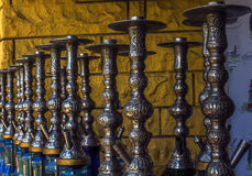 Ottoman hookahs Royalty Free Stock Photos